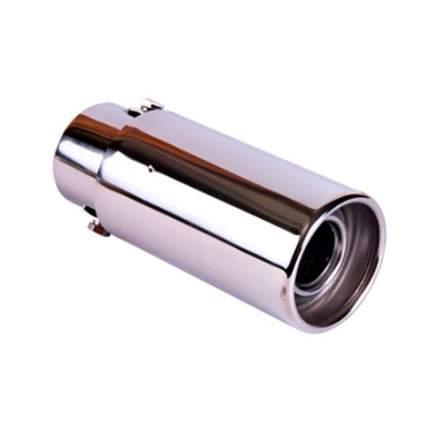 Насадка на глушитель 63х155х51мм хром BOLK BK01411