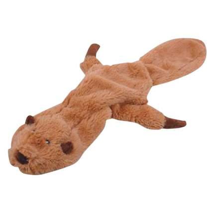 Мягкая игрушка для собак HOMEPET Бобер, бежевый, длина 56 см