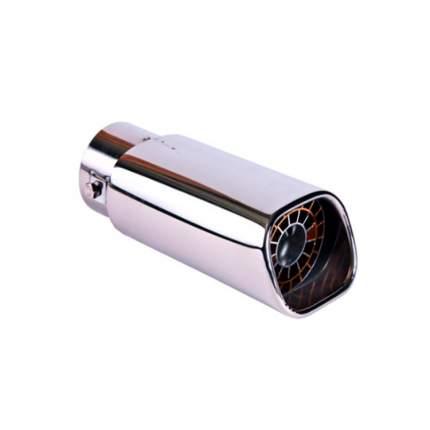 Насадка на глушитель 78х185х63мм хром BOLK BK01420