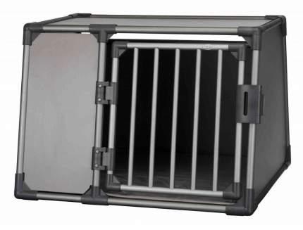 Контейнер для кошек и собак TRIXIE 92 × 64 × 78 см серый, с термоподстилкой