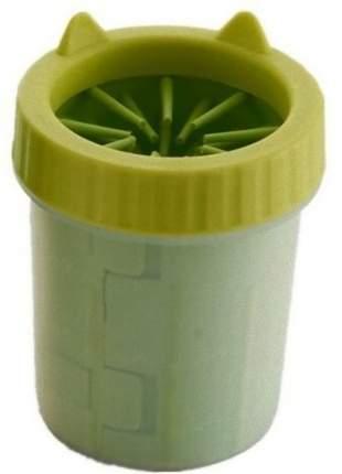 Лапомойка для собак HOMEPET пластик, желтый, 8,5 см х 7,5 см х 11 см