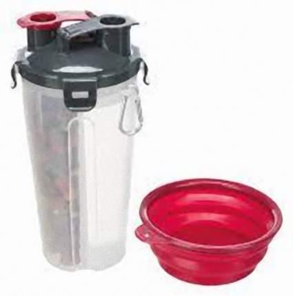 Контейнер для корма TRIXIE 0.35л, пластик, 2 x 0,35 л