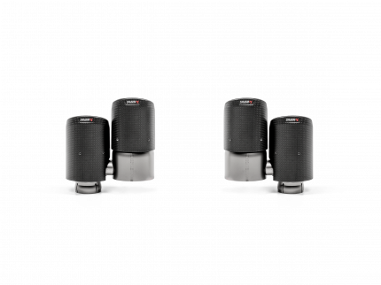 Насадки выхлопной системы для Akrapovic TP-CT/53  PORSCHE 536 Cayenne и Cayenne Coupe (E3)