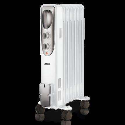 Масляный радиатор Zanussi ZOH/ES-07W белый