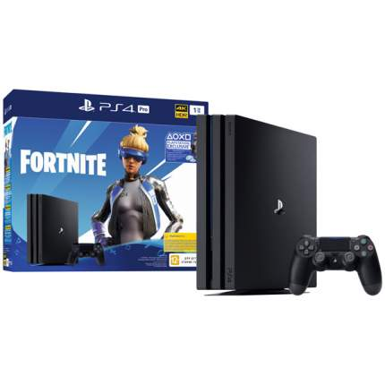 "Игровая приставка Sony PlayStation 4 Pro 1TB + Fortnite ""Neo Versa"" (CUH-7208B)"