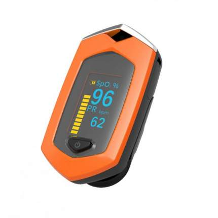Пульсоксиметр BOXYM 1072 oSport с аккумулятором оранжевый