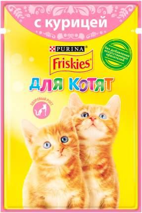 Влажный корм для котят Friskies, с курицей в подливе, 24шт по 85г