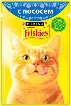 Влажный корм для кошек Friskies, с лососем в подливе, 24шт по 85г