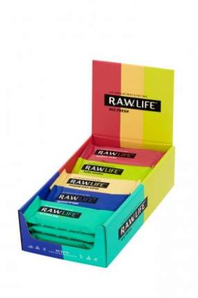 Батончики R.A.W.LIFE mix fresh 20 шт
