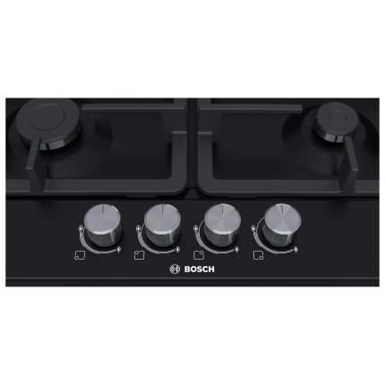 Встраиваемая варочная панель газовая Bosch PGP6B6O90R Black