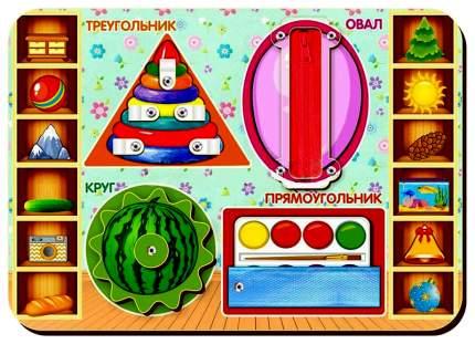"""Бизиборд """"Формы"""" Woodland (Сибирский сувенир)"""