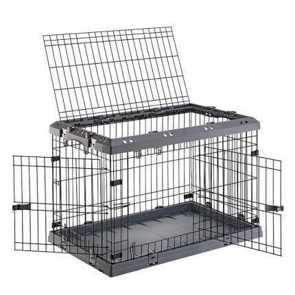 Клетка для собак Ferplast пластик, сталь, 47x62x50см