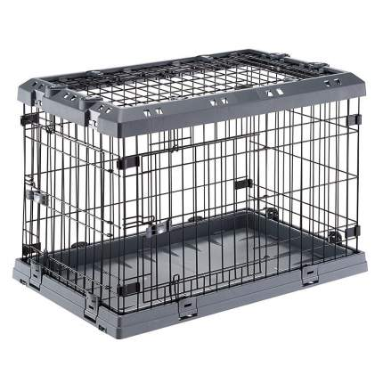 Клетка для собак Ferplast пластик, сталь, 51x77x55см