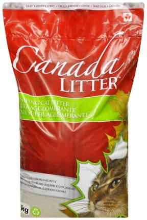 Комкующийся наполнитель для кошек Canada Litter Запах на замке бентонитовый, лаванда, 18кг