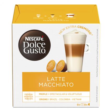 NESCAFÉ Dolce Gusto Латте Макиато, кофе в капсулах, 16 капсул