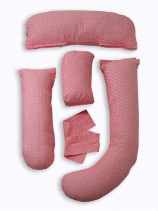 Анатомическая Подушка-Трансформер для тела Ol-Tex розовая