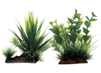Искусственное растение ArtUniq Agave mix 18 20x16x18см + Bacopa mix 12 10x5x12см