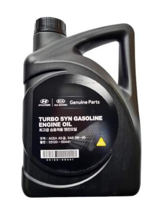 Моторное масло Hyundai Turbo SYN Gasoline Engine Oil 5W-30 4л