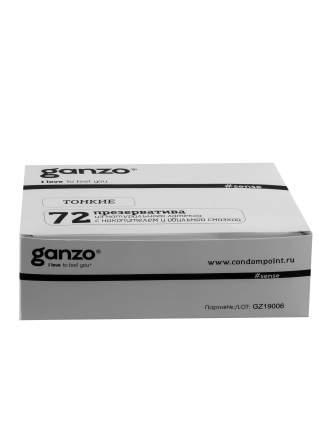 Презервативы Ganzo sense тонкие 72 шт.