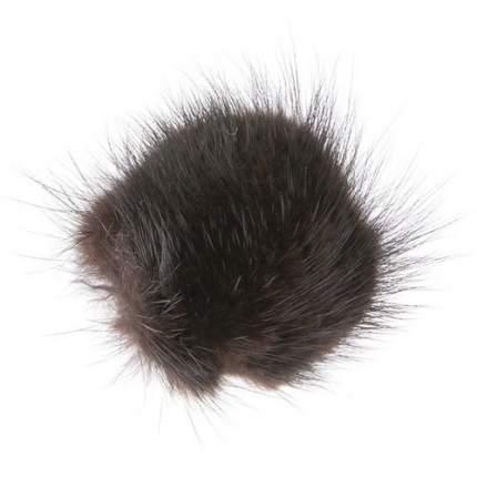 Мягкая игрушка для кошек Gosi Пушистик натуральный мех, в ассортименте, 19.5 см