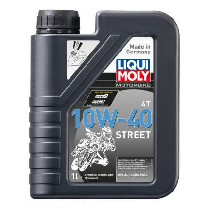 Моторное масло Liqui moly Motorbike 4T Street 10W-40 1л