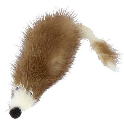 Мягкая игрушка для кошек Gosi Мышь норка М натуральный мех, в ассортименте, 5 см