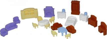 Набор мебели для кукол №5, 21 элемент П-49360 Полесье