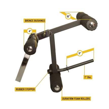 Опция сгибание/разгибание ног Body Solid GLDA-3