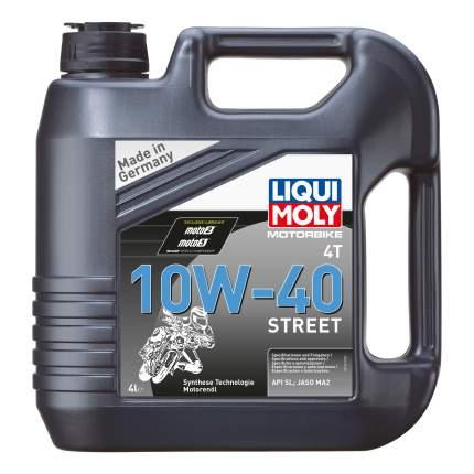 Моторное масло Liqui moly Motorbike 4T Street 10W-40 4л