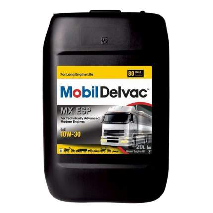 Моторное масло Mobil Delvac MX ESP 10W-30 20л