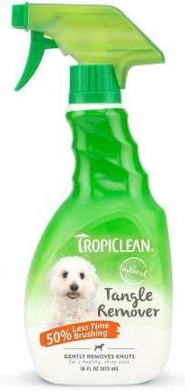 Спрей для собак TropiClean устранение колтунов, 473 мл