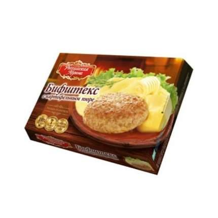 Бифштекс Российская Корона с картофельным пюре 300 г