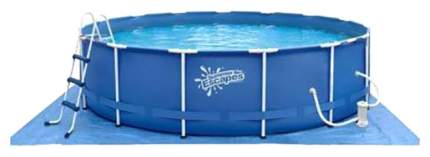 Каркасный бассейн Polygroup Summer Escapes P20-1452-B P20-1452-B 427x427x132 см