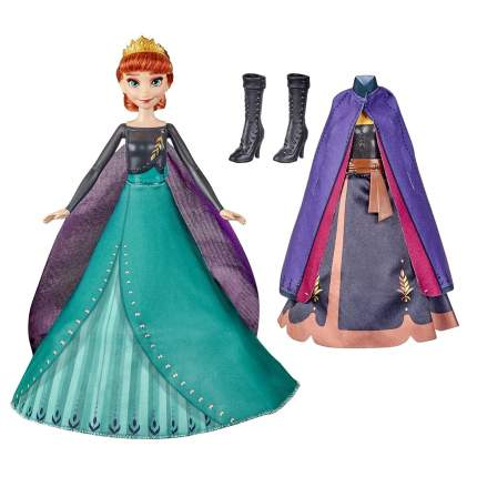 Кукла Анна Холодное сердце Королевский наряд