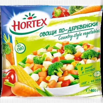 Овощи Hortex по-деревенски 400 г
