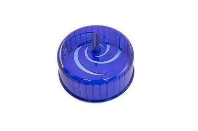 Беговое колесо для грызунов Дарэлл пластик, без подставки, синее, 14 см