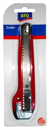 Нож Aro канцелярский для бумаги 18мм 1шт
