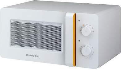 Микроволновая печь соло Daewoo KOR-5A67 White/Orange