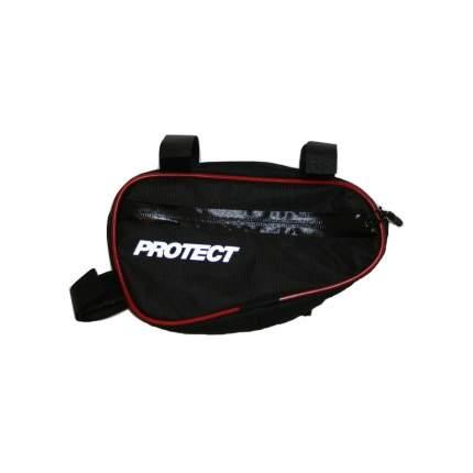 Велосипедная сумка Protect 23 x 12,5 x 5 черная