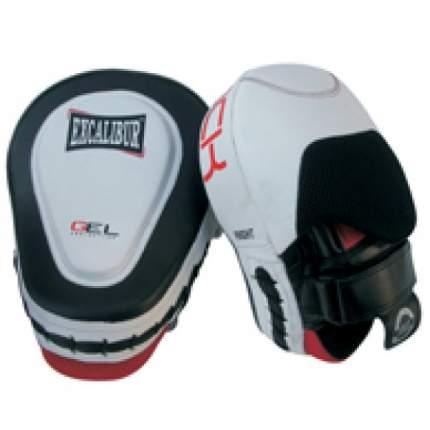 Лапы боксерские Excalibur 828 Буйволиная кожа (пара),
