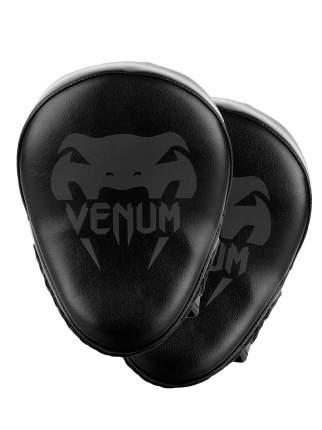 Лапы Venum Light Black/Black (пара),