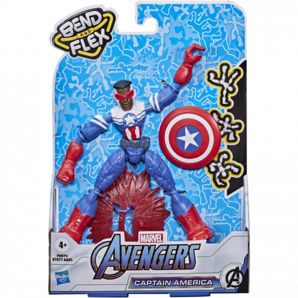 Фигурка Avengers Hasbro 15 см Бенди Мстители Фалкон F09715X0
