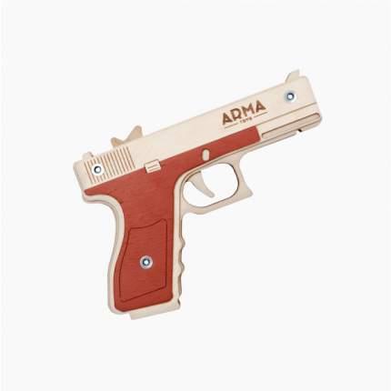 Резинкострел ARMA Глок в сборе, многозарядный