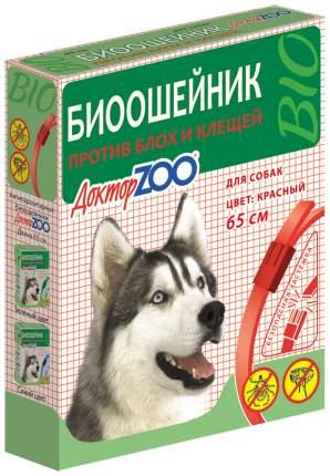 Ошейник для собак против блох, власоедов, вшей, клещей Доктор ZOO БИО черный, 65 см