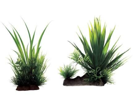 Искусственное растение ArtUniq, Agave mix 18 20x16x18см + Acorus mix 20 12x10x20см