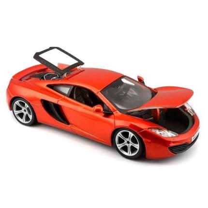 Коллекционная машина Bburago MCLAREN MP4-12C MET ORANGE оранжевая, 1:24
