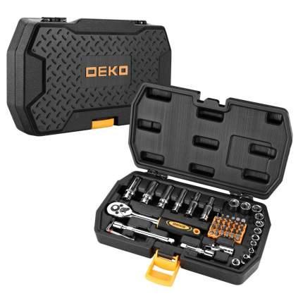 Набор инструментов для автомобиля DEKO DKMT49 в чемодане (49 предметов) 065-0774
