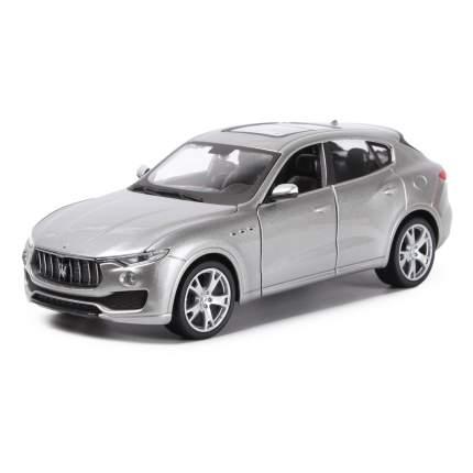 Коллекционная машина Bburago Maserati Levante Silver серебристый, 1:24