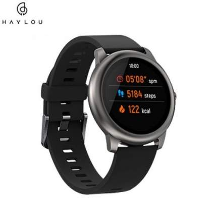 Смарт-часы Xiaomi Haylou Solar Smartwatch LS05 EU Black/Black