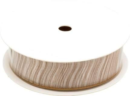 Лента ОРГАНЗА для декорирования подарков,  2,5 см*3 м, полиэстер